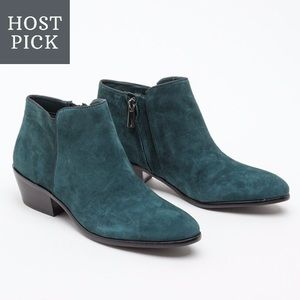 Sam Edelman Petty Ankle Bootie in Everest Green